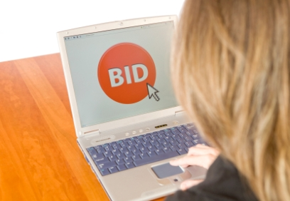 Online auctions work well for bulk sales